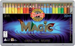 Kleurpotlood Koh-I-Noor magic + blender assorti ds/23