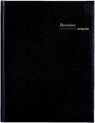 Agenda 2019 Bretime 16mnd aug-dec zwart 14,8x21cm