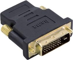 Adapter Hama DVI/m naar HDMI/f zwart