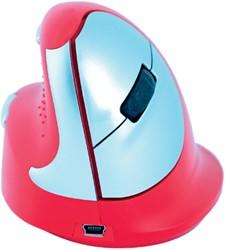 Muis R-go HE Sport rechts medium Bluetooth rood