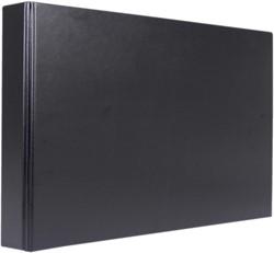 Ringband A3 4r. 25mm liggend zwart Kangaro K-0120