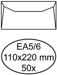 Enveloppen bank 110x220mm Hermes pk/50