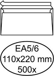 Enveloppen bank 110x220mm Hermes zelfklevend laser ds/500
