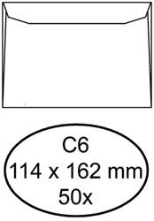 Enveloppen bank 114x162mm Quantore pk/50