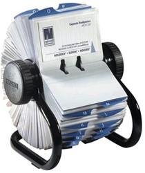 Rolodex visitekaartenmolen 67x102mm 400 kaarten