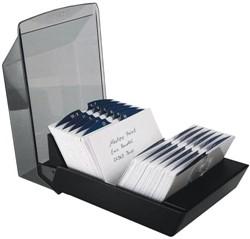 Rolodex VIP 57x102mm 500 kaarten zwart