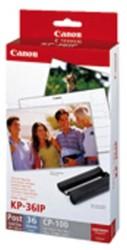 Inkjetpapier Canon KP36IP 10x15cm foto 245gr 36vel