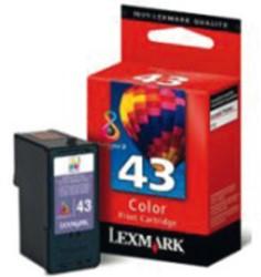 Inktcartridge Lexmark 18YX143E (43) kleur