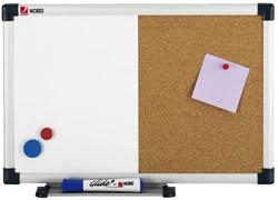 Duobord Nobo 60x45cm verpakking gelakt/kurk retail
