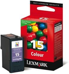 Inktcartridge Lexmark 18C2110E nr,15 kleur
