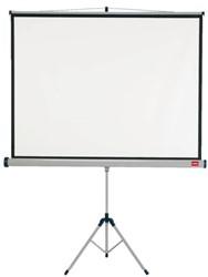 Projectiescherm Nobo statief 175x132.5cm