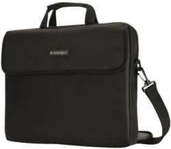 "Notebooktas Kensington SP10 classic 15.4"" zwart"