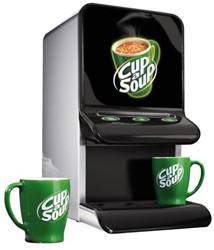 Cup-a-Soup mini automaat + gratis 4 zakken soep!