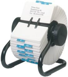 Rolodex Classic 57x102mm 500 kaarten zwart