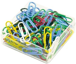 Paperclips 30mm assorti ds/100
