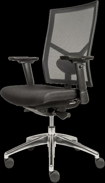 Verstelbare Bureaustoel Zwart.Bureaustoel Dekas Model Edition Netweave Incl Verstelbare
