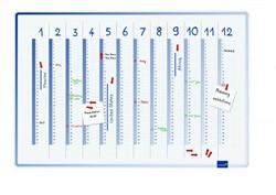 Jaarplanner 60x90cm Lega Accents Cool