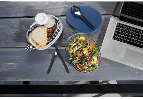 Mepal saladebox Ellipse nordic denim-2
