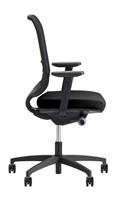 Bureaustoel Be Fine 6402, verstelbare armleggers model 31ZW-3