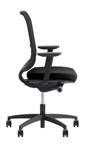 Bureaustoel Be Fine 6402, verstelbare armleggers model 31ZW