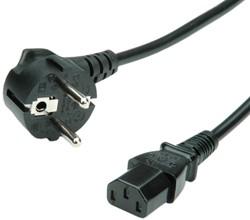 Kabel stroom C13 1,8 meter zwart