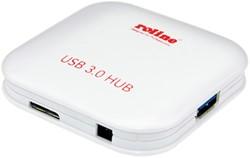 USB hub 3.0 4 poorten zwart