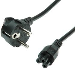 Kabel stroom C5 1,8 meter zwart