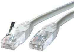Kabel UTP Cat.5e  1 meter grijs