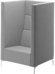 Bank Cara highline, hoog, 150cm, compleet gestoffeerd, onderstel diverse kleuren