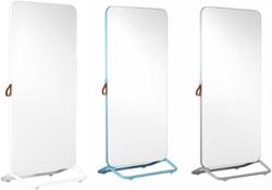 a3c3f1f8aac Viltstiftbord/prikbord Smit Visual Chameleon Mobile verrijdbaar blauw  frame/wit email/blauw prikbord