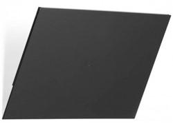 Folderhouder Flexiboxx afdekplaat A4 liggend zwart