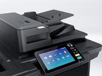 Multifunctional Toshiba e-Studio2000AC - 2 papierladen, RADF en onderzetkast