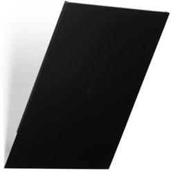 Folderhouder Flexiboxx afdekplaat A4 staand zwart