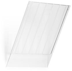 Folderhouder Flexiboxx afdekplaat A4 staand transparant