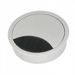 Kabeldoorvoer In2Ergo 60mm zilver
