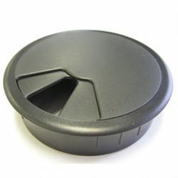 Kabeldoorvoer In2Ergo 80mm zwart