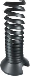 Kabelspiraal zwart tot 130cm