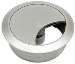 Kabeldoorvoer rond 60mm nikkel