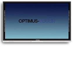 "Touchscreen Vidi Optimus-Touch 70"" LED monitor"