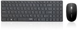 Toetsenbord + muis Rapoo 9300P zwart