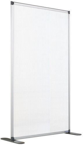 Preventiescherm 120x140cm vloer staand (excl. voeten)