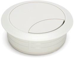 Kabeldoorvoer rond 80mm wit