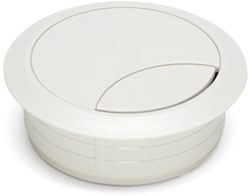 Kabeldoorvoer rond 60mm wit